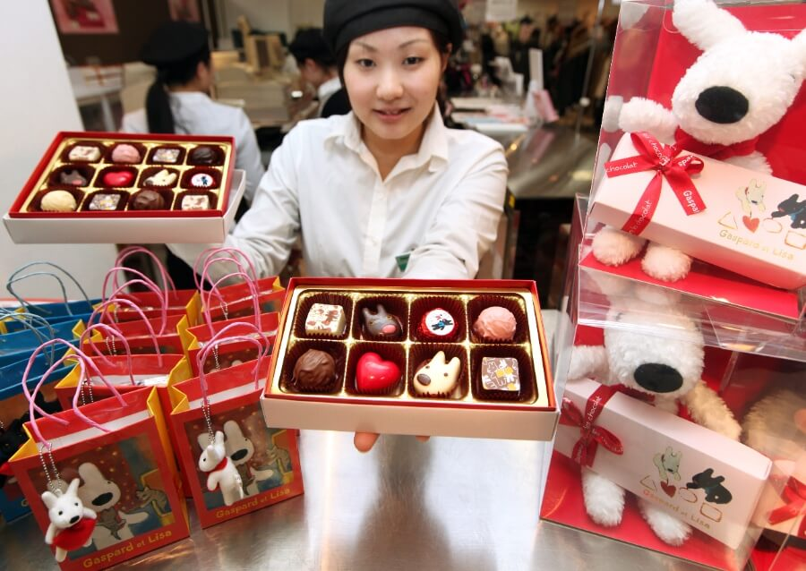 Taysbakers-Valentine in Japan