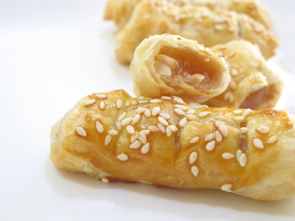 Nian Gao Puff Pastry