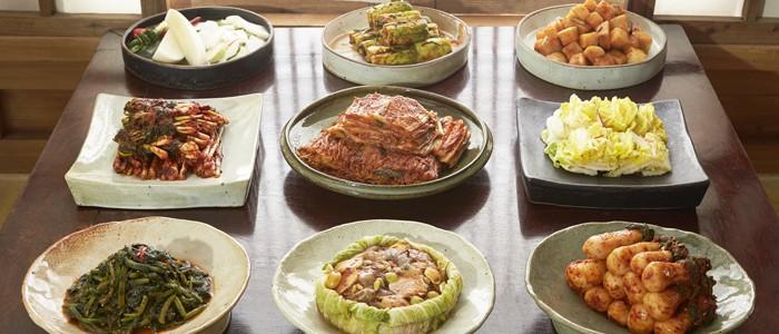 Various-types-Kimchi