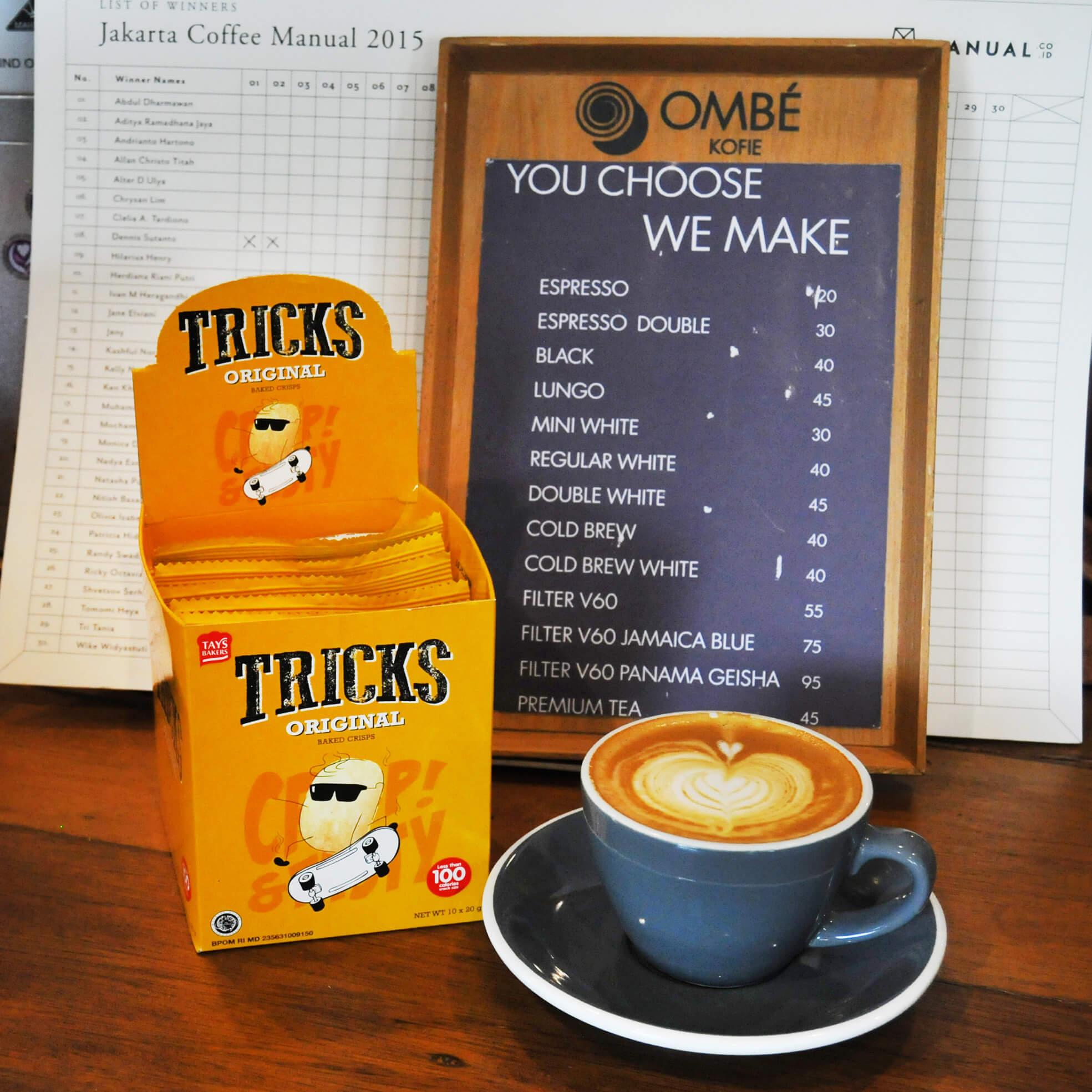 Harga kopi di Ombe Kofie
