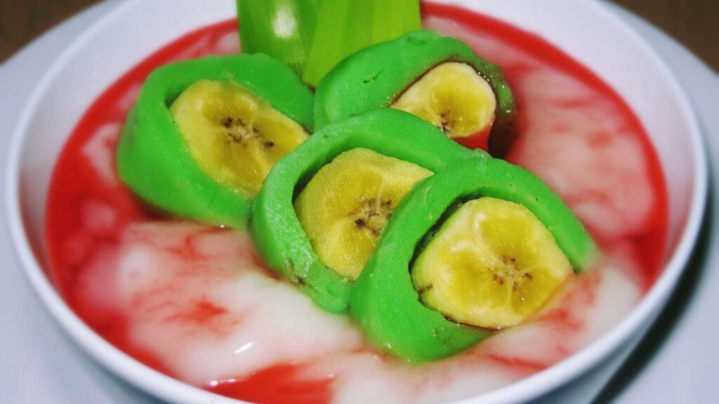 es pisang ijo