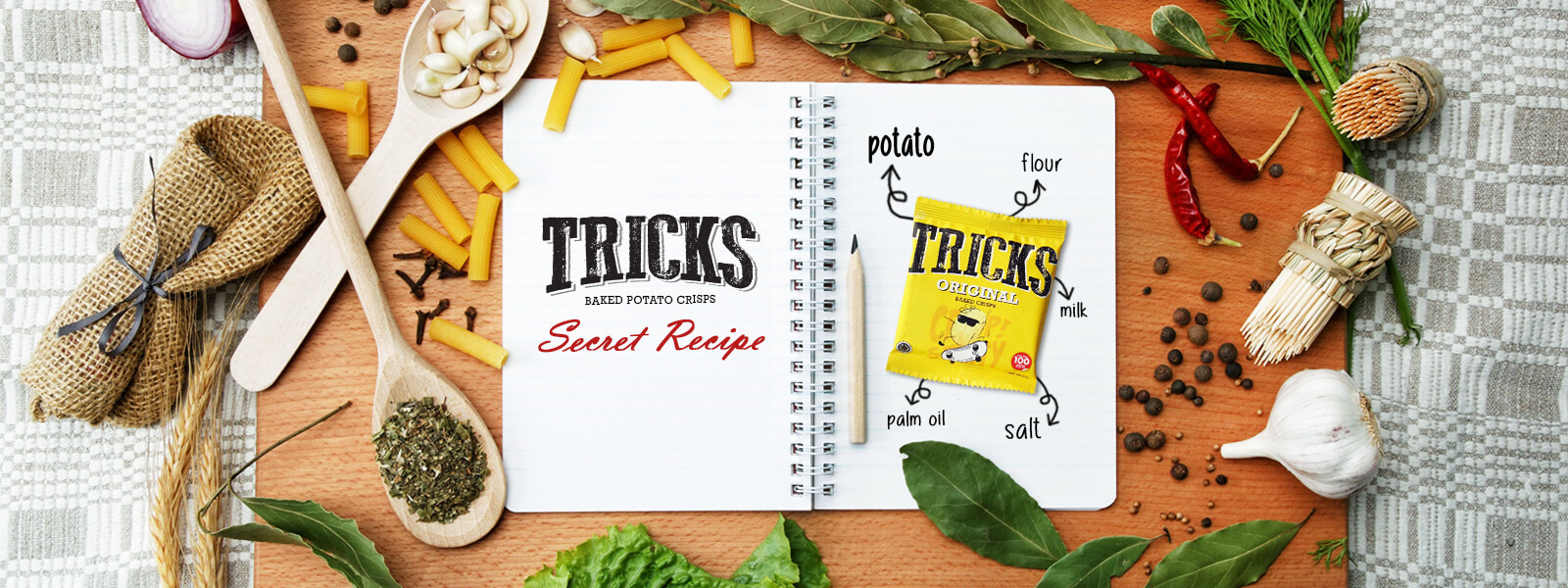 Tricks Baked Potato Crisps