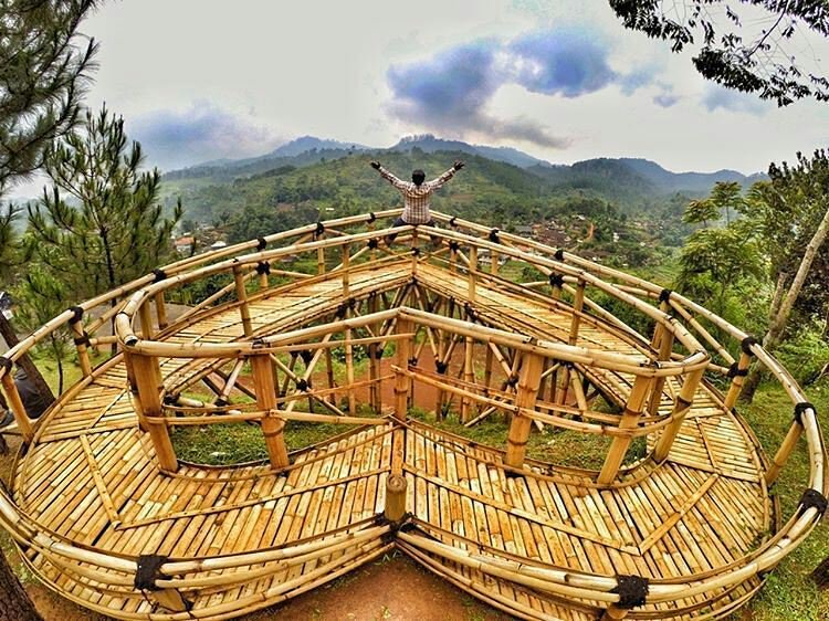 Jembatan Cinta Ciwidey Destinasi Traveling Hits 2017