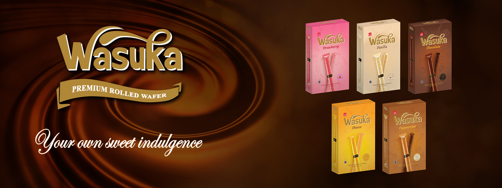 Wasuka Premium Rolled Wafer