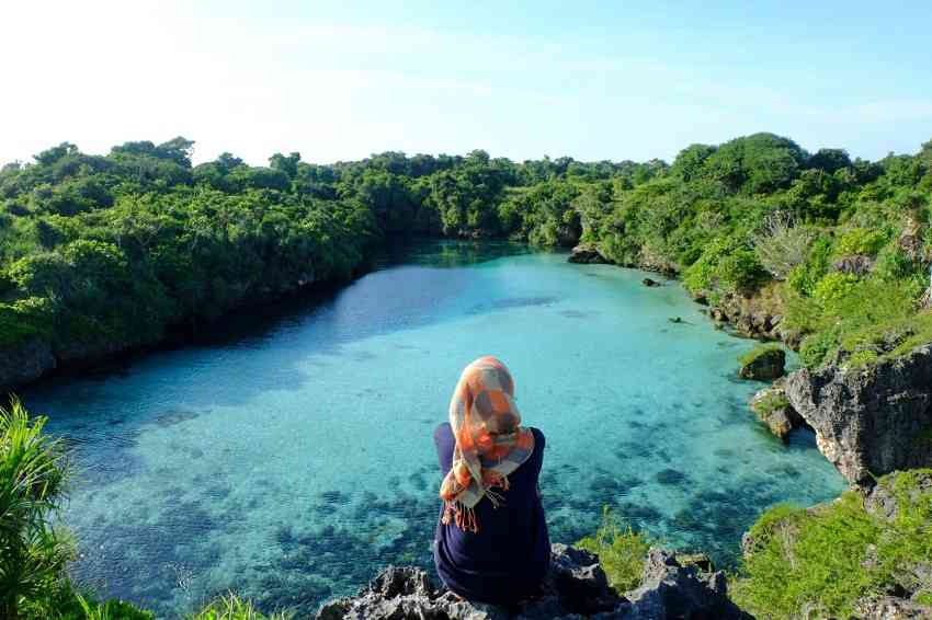 Weekuri Lagoon Destinasi Traveling Hits 2017